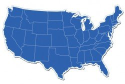 us-map-blue