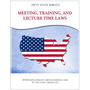 Meeting Training Lecture Time E-Book Cover