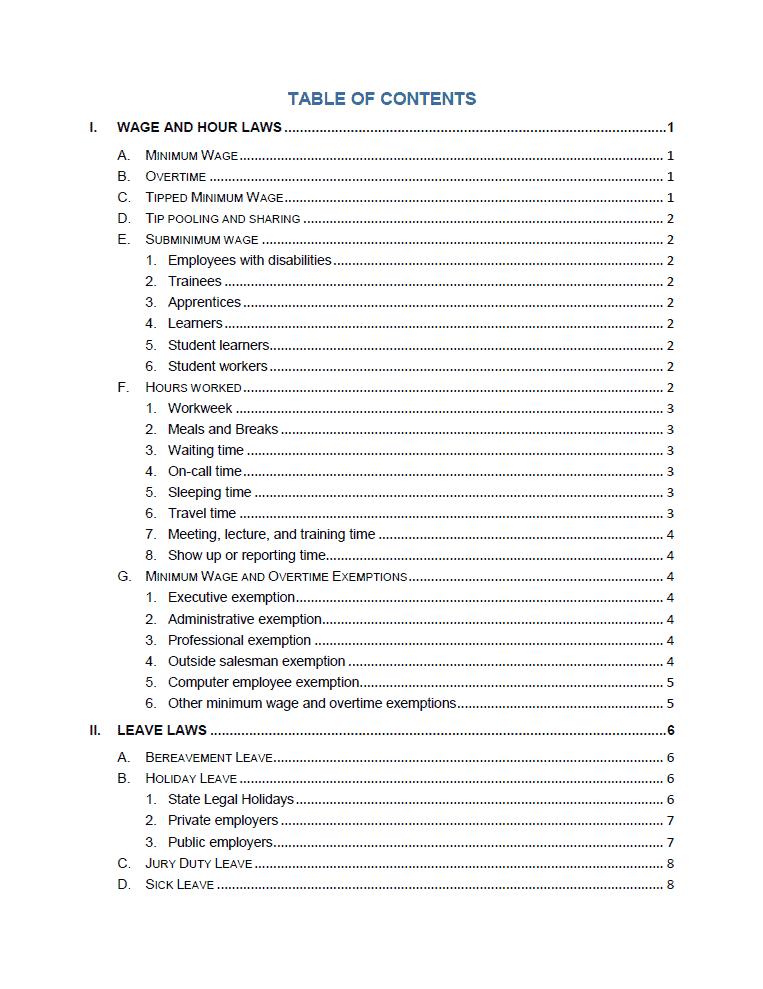 staffing handbook