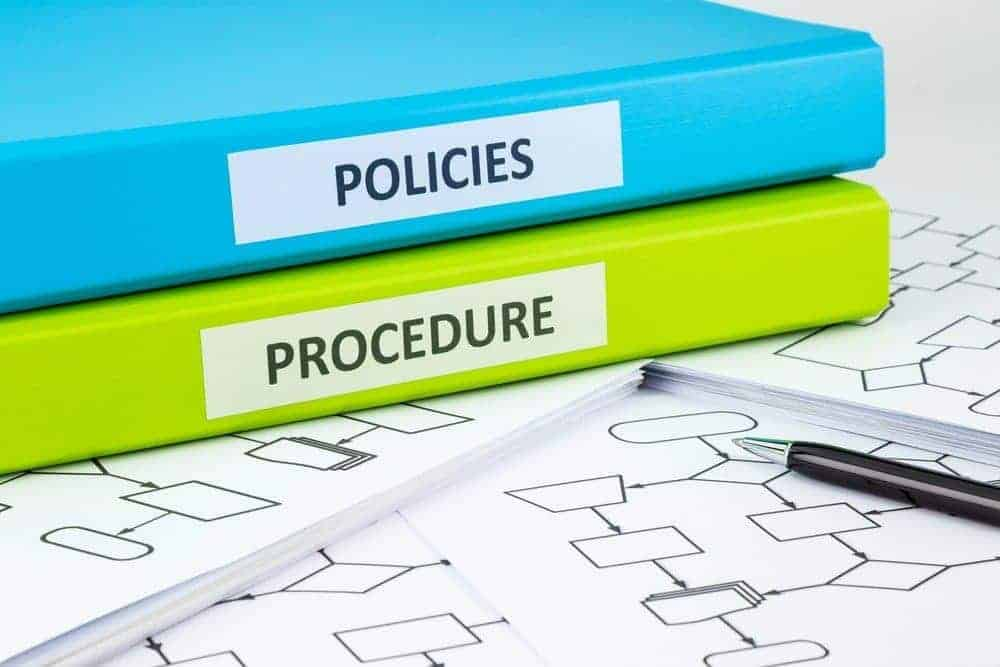 3 tips for implementing policy changes employment law for Physical access control policy template