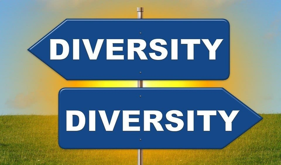 diversity sign posts