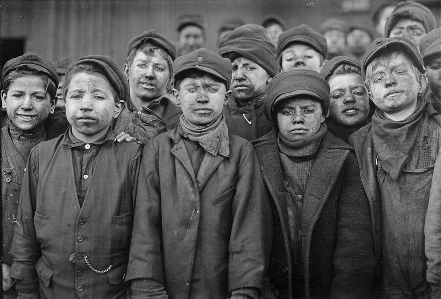 Breaker boys Hughestown Borough Coal Co. Pittston, Pa