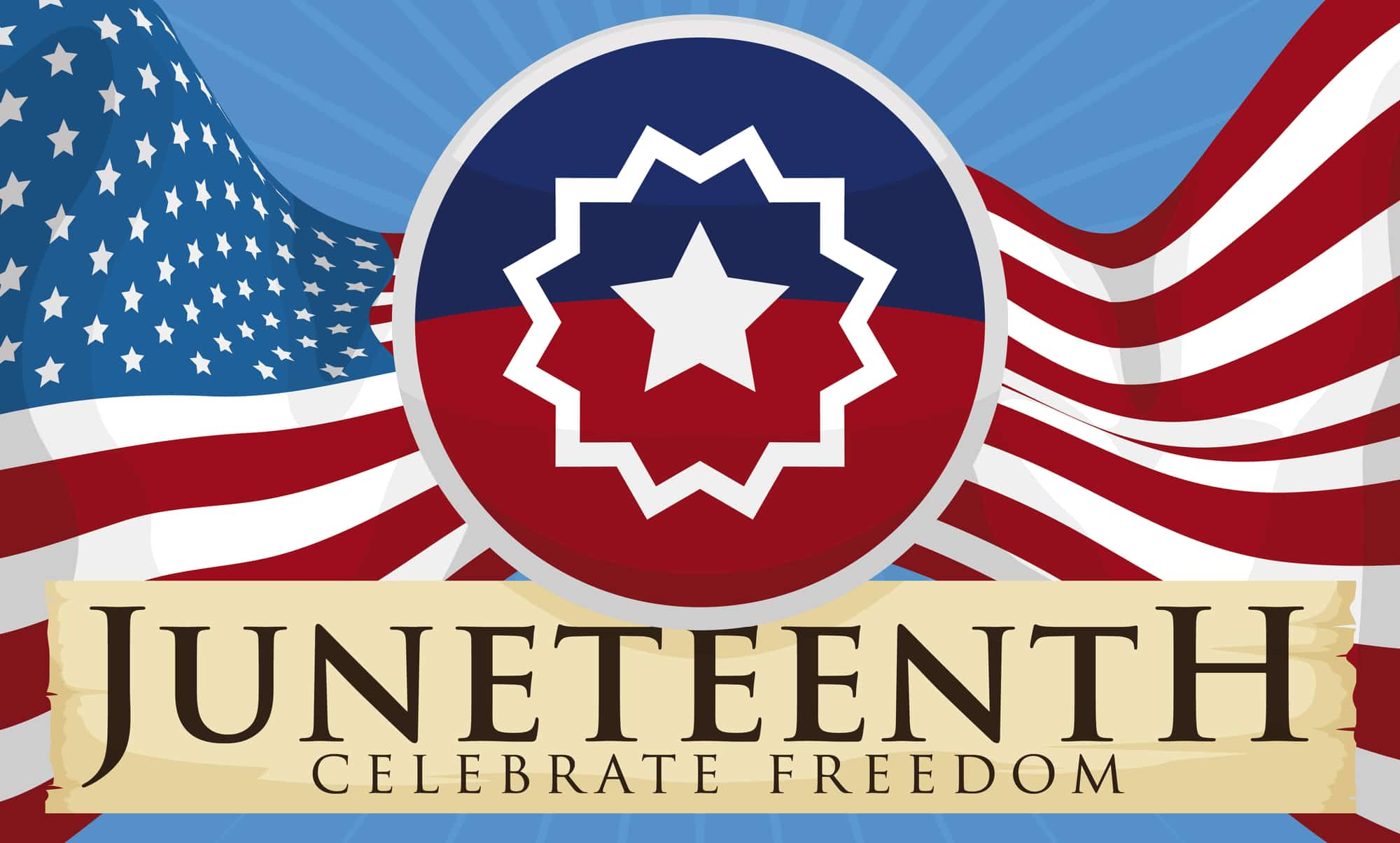 juneteenth-on-flow-with-scroll-with-greeting-message