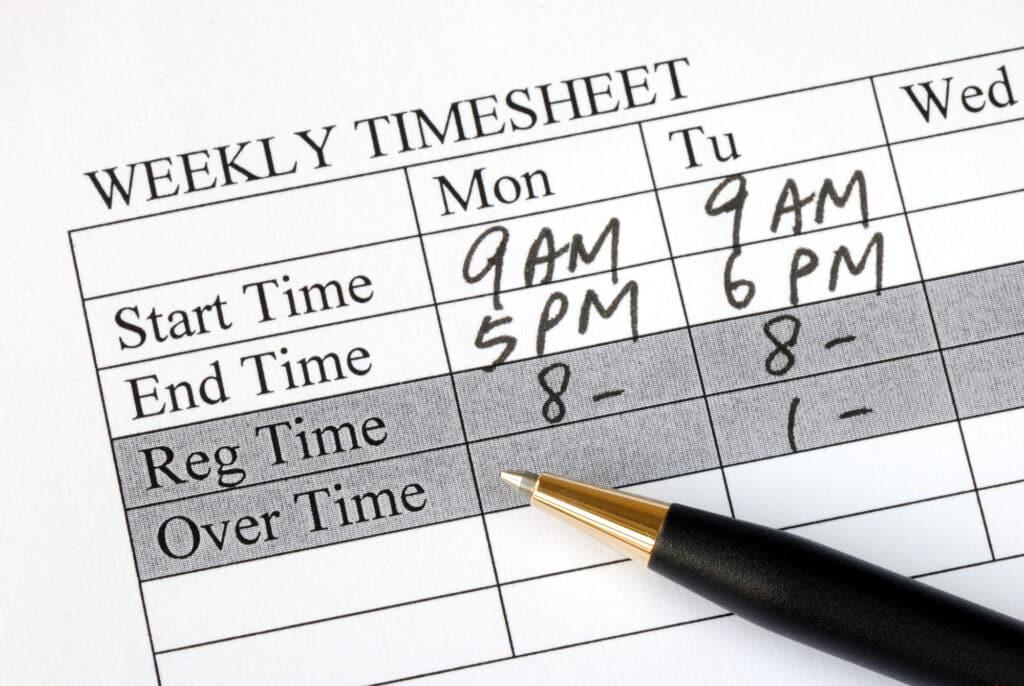 timesheet-overtime-record